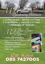 MJ Gardening Services
